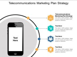 Telecommunications Marketing Plan Strategy Ppt Powerpoint Presentation Professional Designs Cpb
