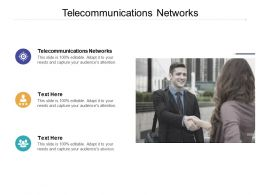Telecommunications Networks Ppt Powerpoint Presentation Ideas Influencers Cpb