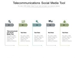 Telecommunications Social Media Tool Ppt Powerpoint Presentation Icon Designs Cpb