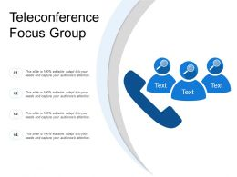 Teleconference Focus Group