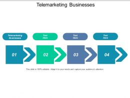 Telemarketing Businesses Ppt Powerpoint Presentation Icon Themes Cpb