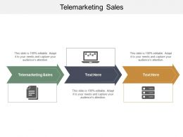 Telemarketing Sales Ppt Powerpoint Presentation Outline Images Cpb