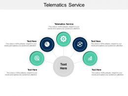 Telematics Service Ppt Powerpoint Presentation Summary Slideshow Cpb