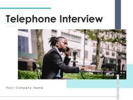 Telephone Interview Entrepreneur Investor Associate Candidate Resource Representing