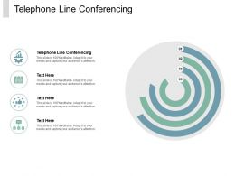 Telephone Line Conferencing Ppt Powerpoint Presentation Infographic Template Show Cpb
