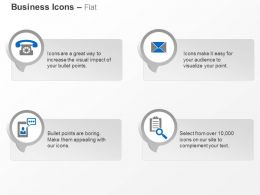 Telephone Mail Message Data Storage Ppt Icons Graphics