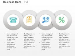 Telephone Resume Dollar Financial Analysis Ppt Icons Graphics