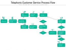 Telephonic Customer Service Process Flow