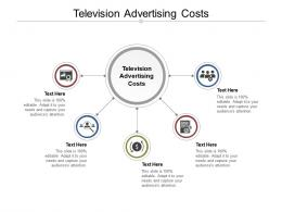 Television Advertising Costs Ppt Powerpoint Presentation Model Tips Cpb