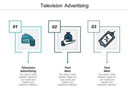 Television Advertising Ppt Powerpoint Presentation Infographic Template Aids Cpb