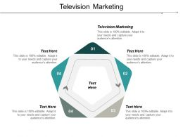 Television Marketing Ppt Powerpoint Presentation Slides Slideshow Cpb