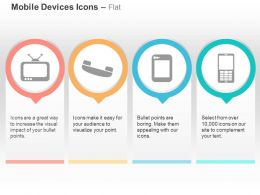 Television Phone Tablet Mobile Ppt Icons Graphics