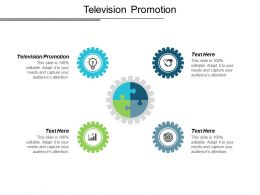 Television Promotion Ppt Powerpoint Presentation Layouts Microsoft Cpb