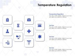 Temperature Regulation Ppt Powerpoint Presentation Professional Graphics Download