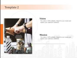 Template 2 Vision Mission And Value Statement Ppt Powerpoint Presentation Infographics