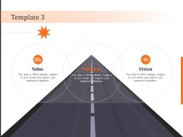 Template 3 Vision Mission And Value Statement Ppt Powerpoint Presentation Infographic