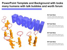 Template And Background With Looks Many Humans With Talk Bubbles And Worth Forum
