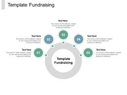 Template Fundraising Ppt Powerpoint Presentation Outline Slide Cpb
