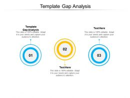 Template Gap Analysis Ppt Powerpoint Presentation Summary Background Images Cpb