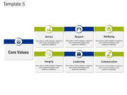 Template Service Mission And Vision Statement Ppt Ideas