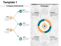 Template Target And Opportunity Ppt Powerpoint Presentation Gallery Professional