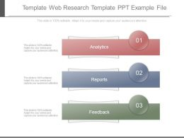 Template Web Research Template Ppt Example File