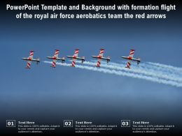 Template With Formation Flight Of The Royal Air Force Aerobatics Team The Red Arrows