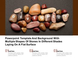 Template With Multiple Shapes Of Stones In Different Shades Laying On A Flat Surface