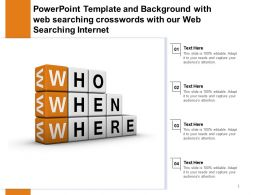 Template With Web Searching Crosswords With Our Web Searching Internet