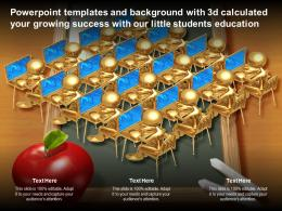 Templates With 3d Calculated Your Growing Success With Our Little Students Education