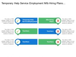 Temporary Help Service Employment Nfib Hiring Plans Employer Behavior