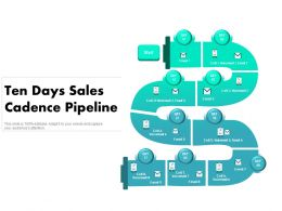 Ten Days Sales Cadence Pipeline