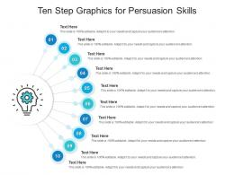 Ten Step Graphics For Persuasion Skills Infographic Template