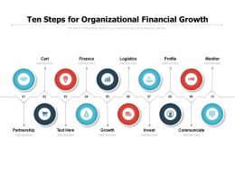 Ten Steps For Organizational Financial Growth