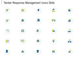 Tender Response Management Icons Slide Ppt Powerpoint Presentation Summary Show