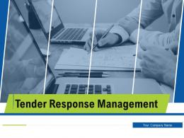 Tender Response Management Powerpoint Presentation Slides