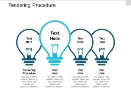 Tendering Procedure Ppt Powerpoint Presentation Ideas Introduction Cpb