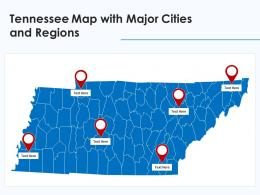 Tennessee Map With Major Cities And Regions