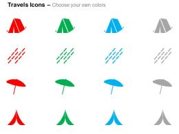 tent_camping_umbrella_road_lanes_ppt_icons_graphics_Slide02