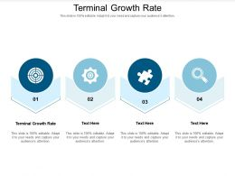 Terminal Growth Rate Ppt Powerpoint Presentation File Shapes Cpb