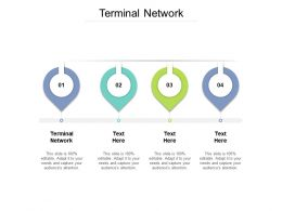 Terminal Network Ppt Powerpoint Presentation Portfolio Elements Cpb