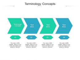 Terminology Concepts Ppt Powerpoint Presentation Slides Designs Download Cpb