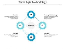 Terms Agile Methodology Ppt Powerpoint Presentation Layouts Vector Cpb
