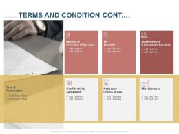 Terms And Condition Cont Miscellaneous Ppt Powerpoint Presentation Inspiration