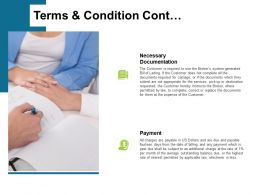 Terms And Condition Cont Ppt Powerpoint Presentation Summary Layouts