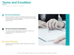 Terms And Condition For Process Change Proposal Ppt Outline Show