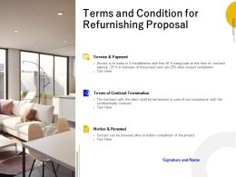 Terms And Condition For Refurnishing Proposal Ppt Powerpoint Presentation