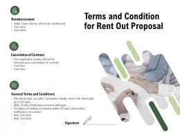 Terms And Condition For Rent Out Proposal Ppt Powerpoint Presentation Model Guidelines