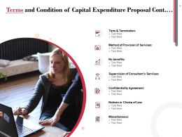 Terms And Condition Of Capital Expenditure Proposal Cont Ppt Powerpoint Presentation Infographic