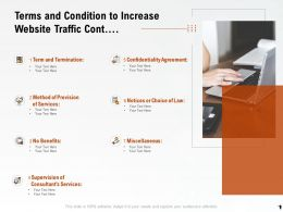 Terms And Condition To Increase Website Traffic Cont Ppt Powerpoint Icons
